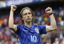 Luka Modric, do Real Madrid