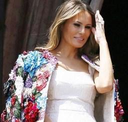 O casaco Dolce & Gabbana de 51.500 dólares que Melania Trump