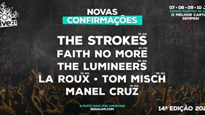 Faith No More e The Strokes confirmados no NOS Alive 2021